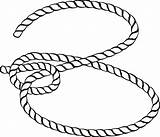Rope Lasso Clipart Clip Svg Cowboy Ropes Transparent Laso Drawing Coloring Line Cartoon Knot Library Boots Hat Nicepng Jump Edit sketch template