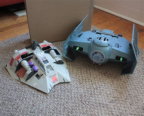 retro nintendo  star wars tie fighter game console bit