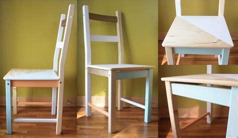 repeindre une chaise ikea hack une chaise ivar idée customisation