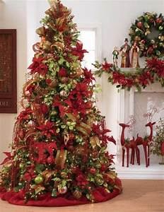 Christmas tree decorations 2014 red and gold 2015-2016