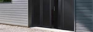 Porte De Garage Pliante À La Française 4 Vantaux : les portes de garage pliantes ~ Nature-et-papiers.com Idées de Décoration