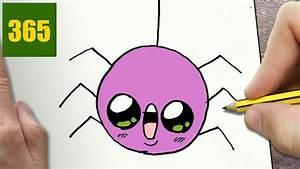Dessin Citrouille Facile : come disegnare ragno di halloween kawaii passo dopo passo disegni kawaii facile youtube ~ Melissatoandfro.com Idées de Décoration