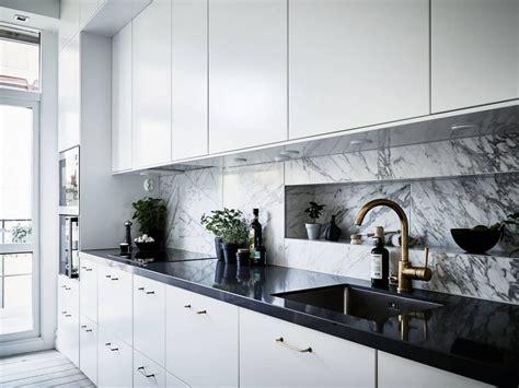 cocinas de marmol m 225 rmol de carrara y las cocinas n 243 rdicas interiores