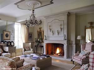 nos 50 plus belles cheminees elle decoration With ordinary meubles blancs style bord de mer 5 decoration chambre epure