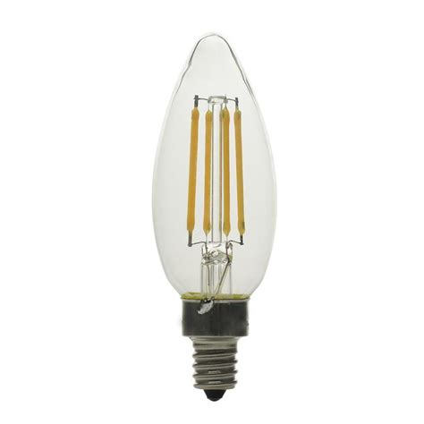 shop kichler 3 pack 40w equivalent dimmable soft white b10