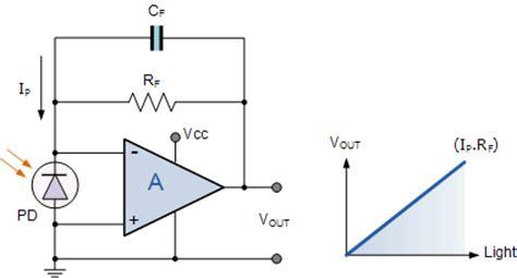 photodiode light detector circuit light sensor including photocell and ldr sensor