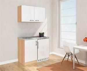 Miniküche Mit Backofen Und Kühlschrank : minik che 100 cm mit k hlschrank di45 hitoiro ~ Michelbontemps.com Haus und Dekorationen