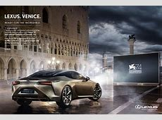 Lexus Print Advert By The&Partnership Ready for the