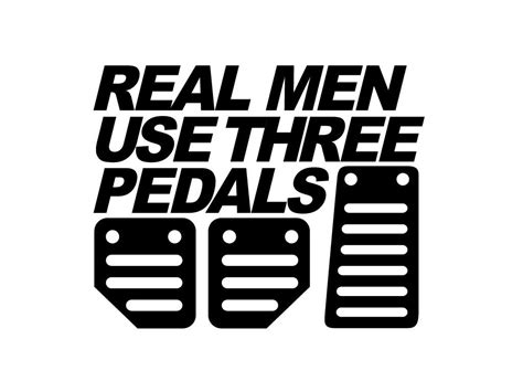 light orange use three pedals decal trackdecals