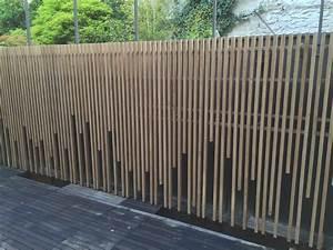 mur en bois decoratif exterieur mzaolcom With habiller un mur exterieur en bois 2 bois espace produits