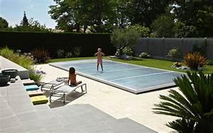 Fabriquer Un Abri De Piscine : poolabri abri piscine plat relevable ~ Zukunftsfamilie.com Idées de Décoration