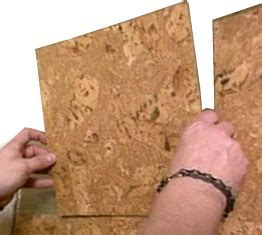 Cork Wall Tiles Installation   Forna Cork Wall Tiles How to