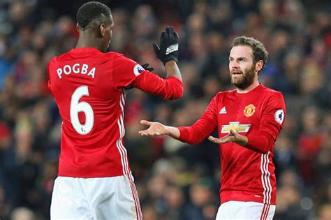 united news paul pogba and juan mata in touch with la liga set to return to ot