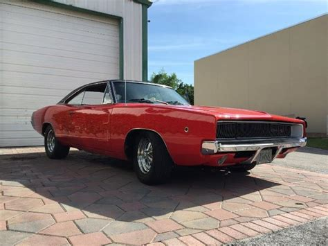 Charger For Sale In Michigan by 1968 Dodge Charger For Sale Classiccars Cc 1118133