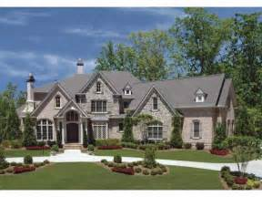 country house plan with 3944 square and 4