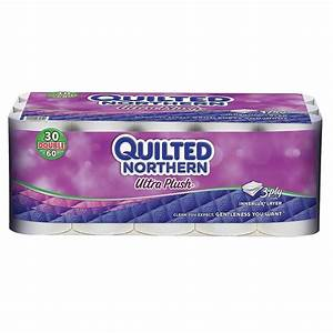Quilted Northern Plush Bathroom Tissue 3-Ply (30-Pack ...