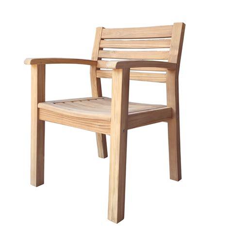 Teak Gartenstuhl Sessel Stuhl Teakholz Gartenmöbel Neu
