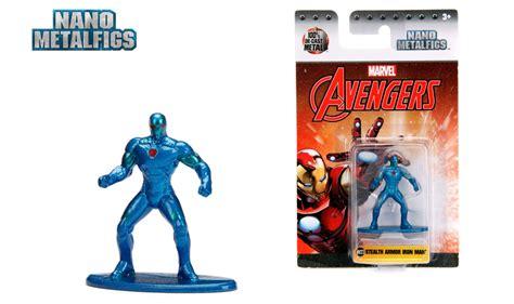 marvel avengers nano metalfigs wave  actionfiguresdailycom