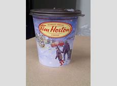 Tim Horton's products make a great calendar DCMontreal