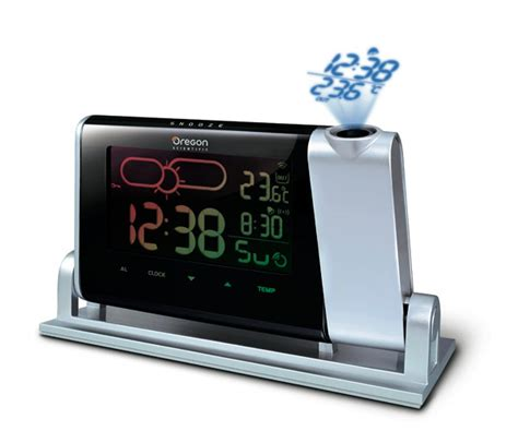 Ceiling Alarm Clock Projection by Alarm Clocks Time Projection Weather Indicator