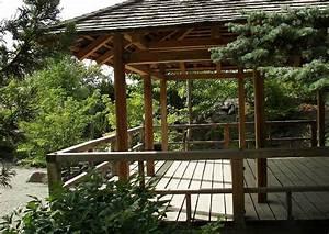 Terrasse Japanischer Garten Terrassengestaltung Ideen