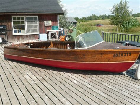 Wooden Runabout Boat Builders by Classic Antique Wooden Boats For Sale Pb400 Port