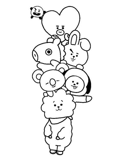 pin  simone joseph  bt   desenhos coreanos