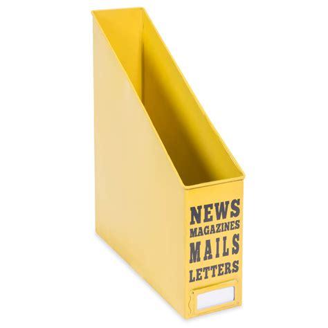 range document metal range documents en m 233 tal jaune yellow summer maisons du monde