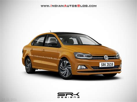Vw Vento 2019 by 2019 Vw Vento Facelift Iab Rendering