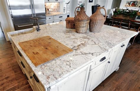 salinas white granite kitchen traditional with faucets2