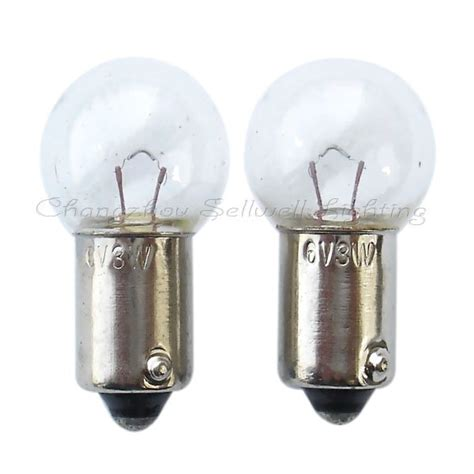 ba9s g15x28 6v 3w miniature l light bulb a244 in