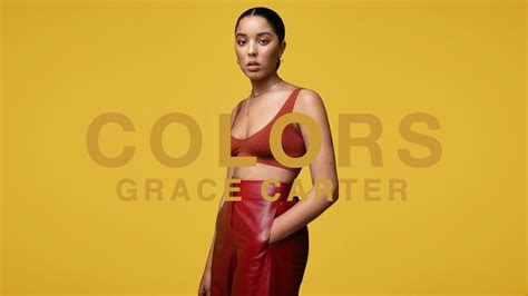 Grace Carter  Ashes  A Colors Show Youtube