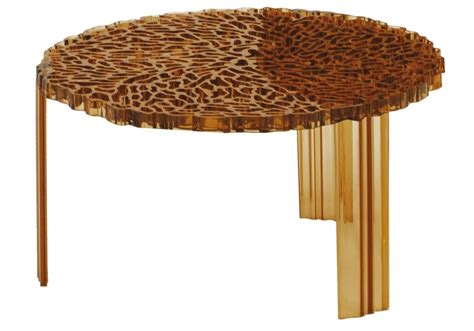 Add to favorites ooak peach tree root accent table 1/12 scale. T-Table Coffee Table Kartell - Milia Shop