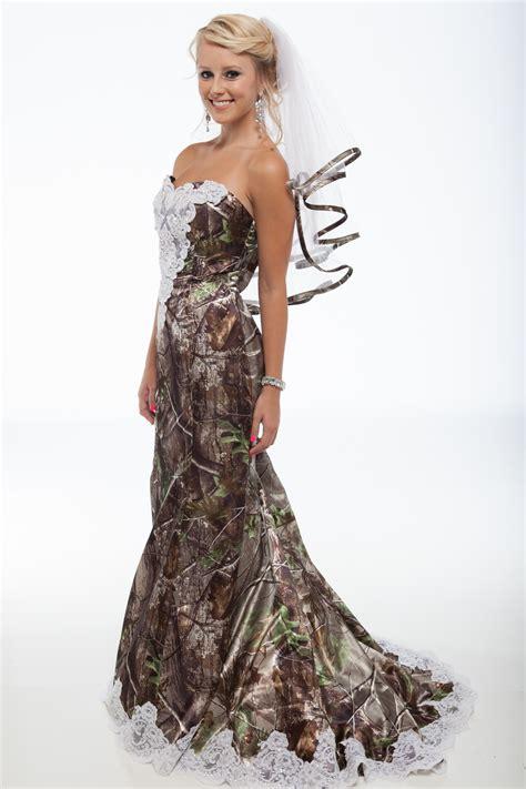 white camo wedding dresses new realtree camo formal attire outdoorhub