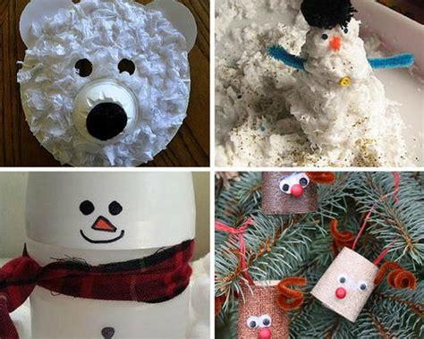 goofy toilet paper roll snowmen allfreekidscraftscom
