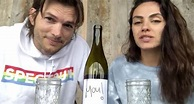 "Kutcher and Kunis create wine for those ""home with your ..."
