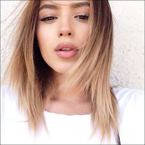 medium length styles for thick hair 50 inspired medium haircuts for thick hair 3112