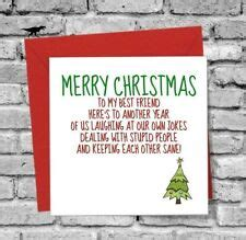 These cute christmas card ideas you showcase your friendship to the whole world. Best Friend Christmas Card | eBay