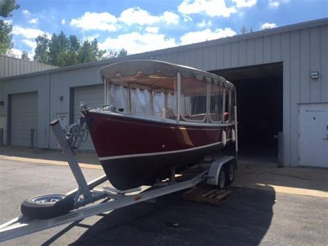 Duffy Boats Cost by Duffy 21 Classic Electric Boat Duffy 2004 For Sale For