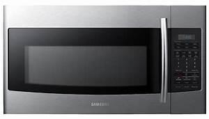 Samsung Smh1816s 30 U0026quot  Over The Range Microwave