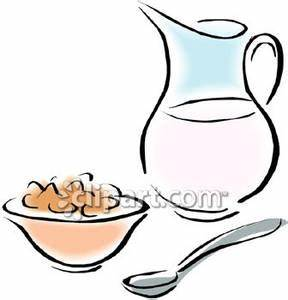 Bowl Of Milk Clipart - Clipart Suggest