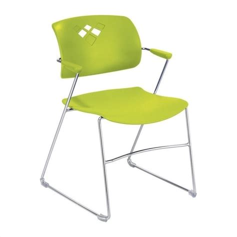 stack stacking chair in grass set of 4 4286gs