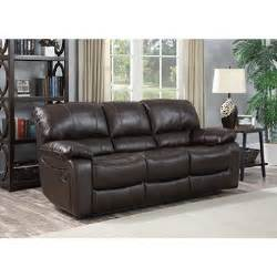 redfield leather reclining sofa sam s club
