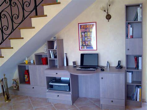 l atelier bureau sous escalier sur mesure bureau sous escalier beziers montpellier util placard