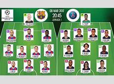 LIVE Barcelona vs PSG BeSoccer