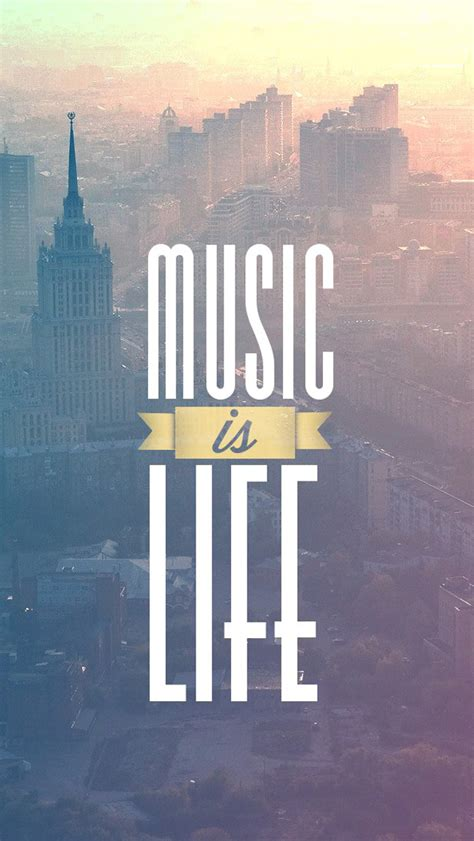 Music Is Life  The Iphone Wallpapers