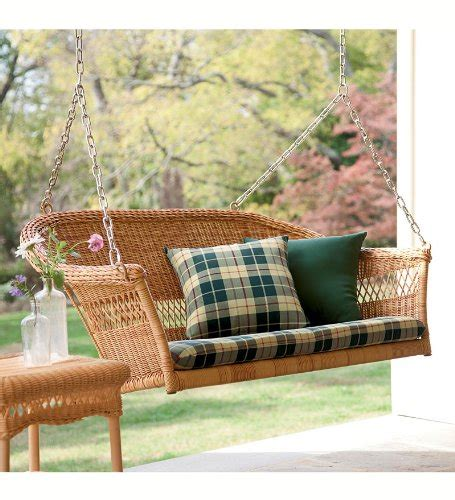 resin porch swing all weather resin outdoor everyday wicker swing in