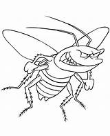 Coloring Bug Pages Bugs Insect Colouring Printable Insects Cartoon Flying Angry Bunny Cockroach Lightning Template Jr Animal Dragonfly Topcoloringpages Print sketch template