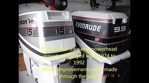 How To Convert A Johnson Or Evinrude 9 9 Hp To 15hp  1974