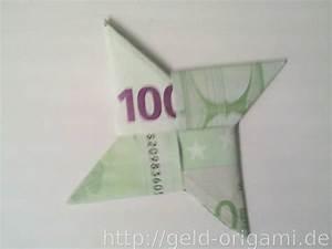 Stern Falten Geld : stern aus zwei geldscheinen falten origami mit geldscheinen ~ Lizthompson.info Haus und Dekorationen